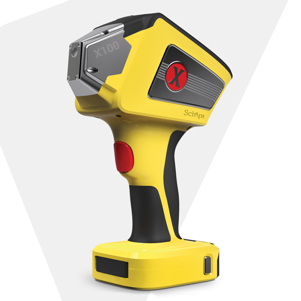 SciAps Scrapper X-250 - портативный лазерный (XRF) анализатор металлов и сплавов