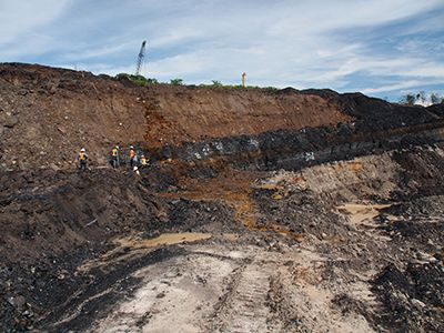 Анализатор для разведки полезных ископаемых и угольной промышленности